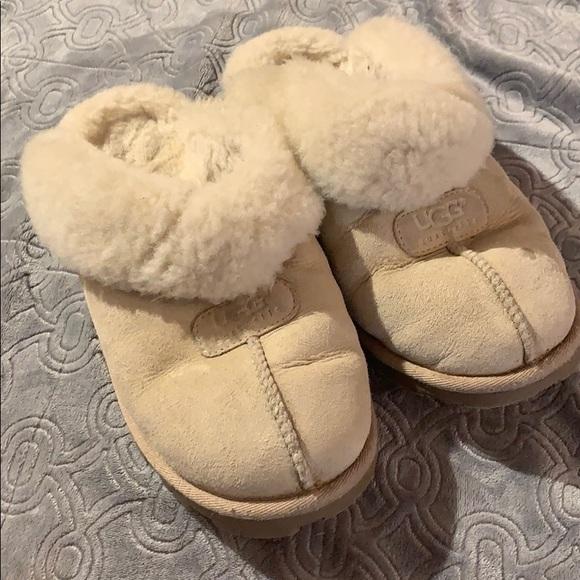 b9abaf82c43 Ugg Coquette Slippers sheepskin clog slide on shoe